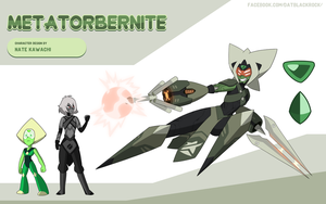 Gem Fusion Metatorbernite by TheGraffitiSoul