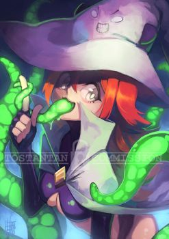The Tentacle Witch by Tostantan