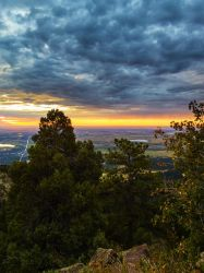 Green Mountain Sunrise by Ben754