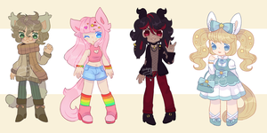 KEMONOMIMI ADOPTS CLOSED by barafrog