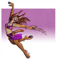 Dancing Theif [Finished Version] by NicnakO44