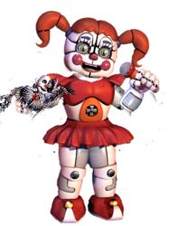 Funtime Circus Baby by GumballTrisWatterson