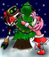 Decorating a Tree by papersak