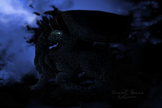 Chaos Dragon by vince20100