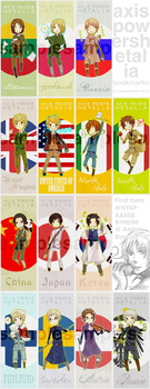 APH bookmarks by niceweatherr