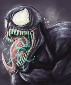 Marvel's Venom by monkeydonuts246
