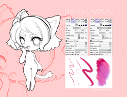 F2U SAI Brush: Han's Crayon by MMXII