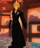 Cloud Strife [MMD] by LexaKiness