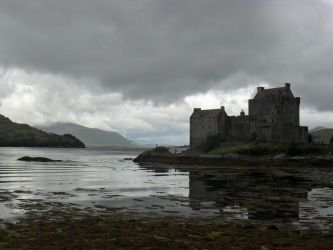 Scottish Castle by Captured-Being
