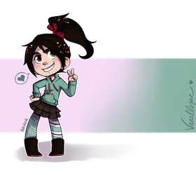 Vanellope by reb-chan