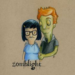Zomblight by AmberStoneArt
