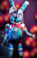 Funtime Bonnie FILLER Render by HeroGollum