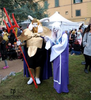 Toriel and Asgore Cosplay by Maspez