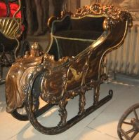 Childs Sleigh 2 by fuguestock
