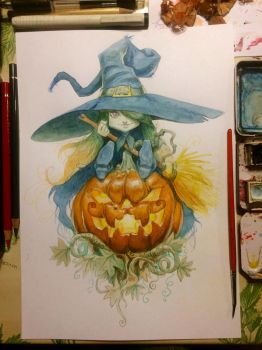 Happy Halloween by pardoart