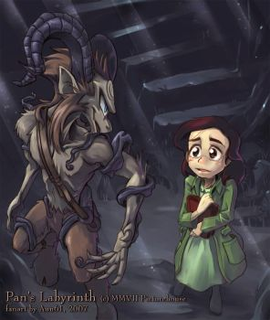 Pls take me to your Labyrinth by aun61