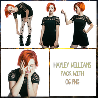 Hayley Williams Pack PNG #1 by maarcopngs