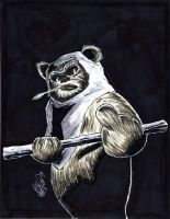Ewok by drawhard
