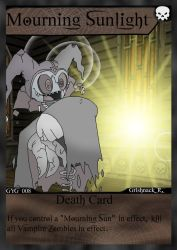 NecroMasters TCG - GYG - 008 - Mourning Sunlight by PlayboyVampire