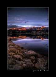 Sunrise In the Rockies by kkart