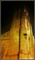 St Mary's Church Derby I by Hayter