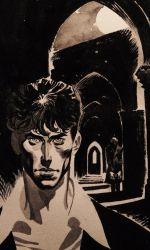 Dylan Dog Commission by ChristopherPossenti