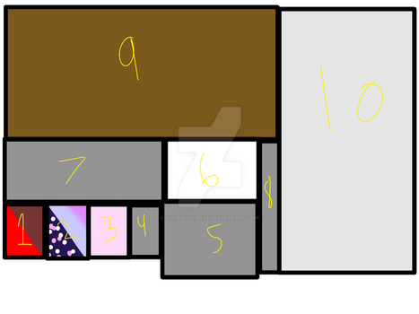 Possible Lair Layout by hovesoffire48