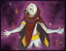 Demon Lord Ghirahim by ColorsAreAwesome
