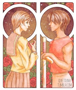 20 years of Escaflowne by QuietDuna