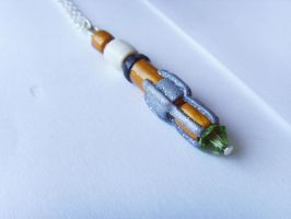 Doctor Who 11th Sonic Screwdriver Necklace - Med by tyney123