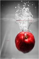 an Apple by wakz