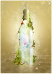 Magic Bottle by mOsk