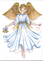 The Easter angel by DreamyNaria
