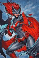 Batwoman | Commission by CottonyHotchkiss
