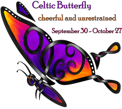 Celtic Butterfly by KnotYourWorld