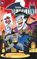 Batman Joker Detective Comics Sketch Cover by timshinn73