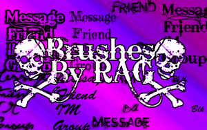 Contact Table Brushes by RiseAboveGraphics