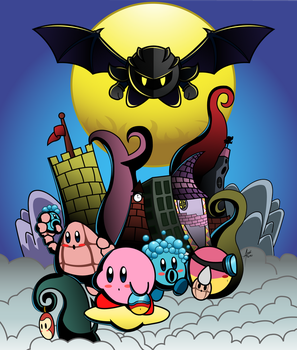 The Legend of Kirby: Meta's Mask by amaitsuno