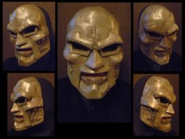 Doctor Doom mask - MK 2 by 4thWallDesign