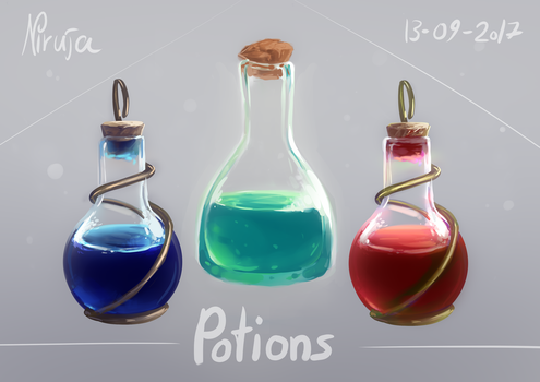 Potions by Niruja