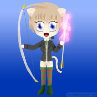 Witche's Weapon: Lynne's Longbow by ThanyTony