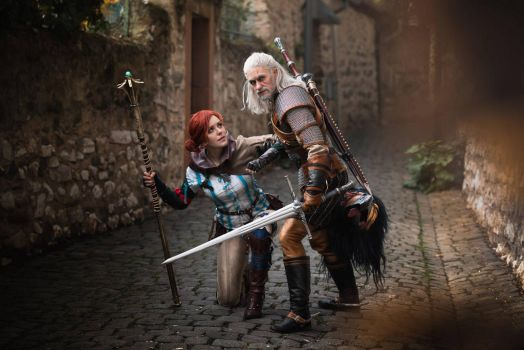Triss and Geralt by ArtcoreCosplay