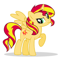 Sunset Shimmer... is an ALICORN?? by PurrplePudding
