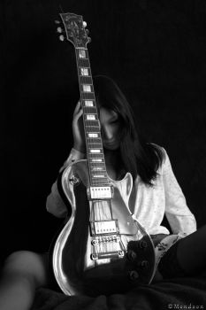 While my guitar gently weeps by Mondoon
