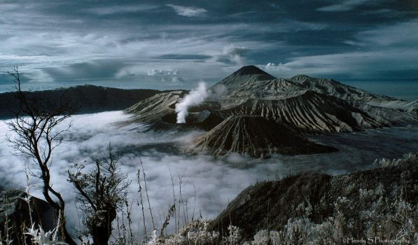 Mystical Bromo by silentview