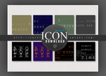 Icon textures Pack-01#8 by Crystallanxi