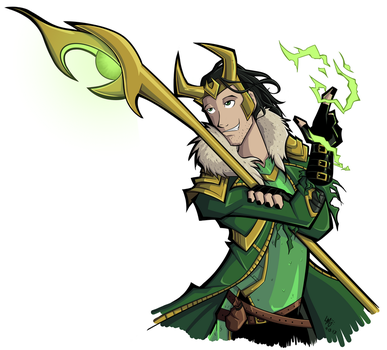 Loki by Samplenote