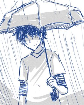 Rain Boy by ichi-iltea15