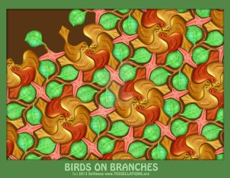 Birds-on-branches by sethness