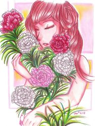Ethereal Artbook: Carnations by Usa-mero